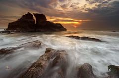 a Place of Solitude (Jose Hamra Images) Tags: sunset bali sunrise indonesia landscape tanahlot denpasar canggu karangbolong melasti