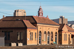 old railroad station and old city hall (Andrew Reding) Tags: oldcityhall bellinghamtowers