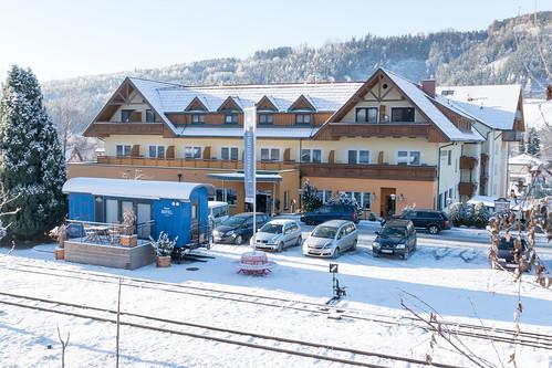 Winterlich im ***Hotel Angerer-Hof