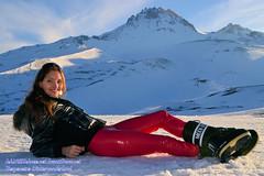 2636 m in Rot. An der Lifos Gondel. (IchWillMehrPortale) Tags: schnee winter ski shiny berge türkei ricci kayseri glänzend anatolien erciyes ichwillschnee lifos gummibekleidung fanstasticrubber