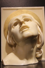 Santa Lucia- Adolfo Wildt (Matteo Giovanni Colnago) Tags: sculpture art face modernart santalucia saintlucy adolfowildt galleryofmodernartinmilan exstasys
