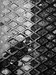 Diamwntau (Rhisiart Hincks) Tags: blackandwhite bw blancoynegro wet rain cymru pluie aberystwyth ceredigion regen blancinegre uisge glaw busti blancetnoir duagwyn gleb euri zwartenwit zuribeltz feketefehr dubhagusbn gwennhadu gwlyb siyahvebeyaz glav  bisteach juodairbalta ernabl fliuch mustajavalkoinen  crnoibelo melnsunbalts negruialb dubhagusgeal  rnoinbelo dubhsgeal