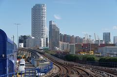 IMGP9088 (mattbuck4950) Tags: england london march europe unitedkingdom bridges canarywharf railways gbr docklandslightrailway 2016 poplardlrstation londonboroughoftowerhamlets lenssigma18250mm camerapentaxk50
