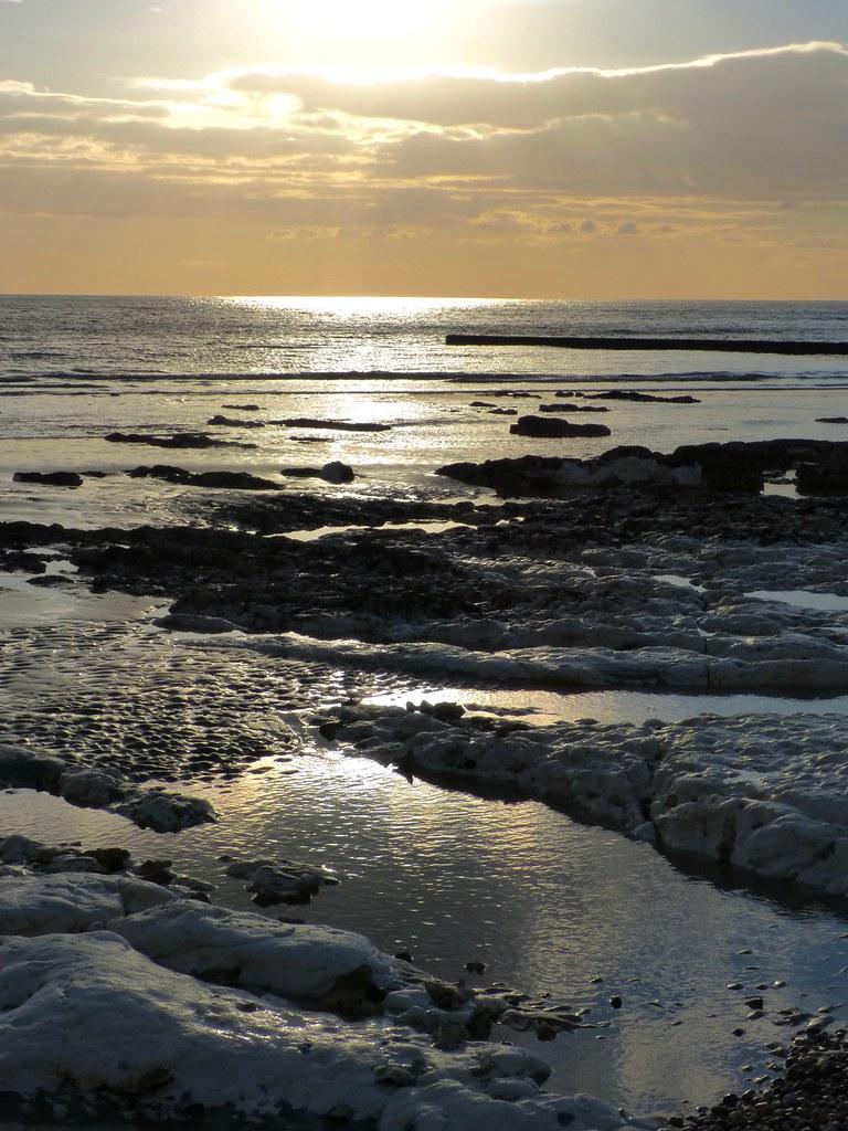 Saltdean Low tide. . .
