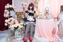 P76_002 (ms09Dom) Tags: cosplay コスプレ 五木あきら itsukiakira ブラックアリス studioazure