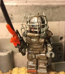 Raider Power Armor (Repost) (The Inner Whale Customs) Tags: lego customs raiders fallout apoc
