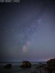 untitled-17 (newbs216) Tags: seascape night stars landscape australia newsouthwales milkyway warriewood narraben sydneyexplorers
