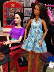 Barbie Makeover Studio (mydollfamily) Tags: barbie africanamerican hairsalon californiagirls fashiondoll mattel diorama myscene nailsalon wardrobestylist soinstyle makeupsalon barbieatthestudio cosmeticssalon