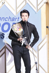 160217 - Gaon Chart Kpop Awards (78) ( ) Tags: awards exo gaon musicawards 160217 exosehun sehun ohsehun gaonchartkpopawards