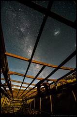 El cielo patagonico en Lohan Mahuida