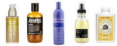 best products for platinum hair care_ lush phyto clairol davines burts bees (Kate Wirth) Tags: hair platinum