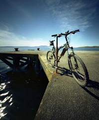 Snap Cycling (wheehamx) Tags: west angle wide pinhole ayrshire kilbride portencross