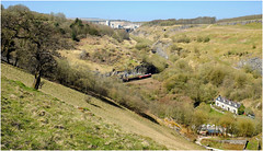 Peak District Beauty (Welsh Gold) Tags: stone train buxton dale district peak pike wye topley dowlow ashburys 66118 6h52