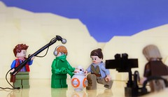 BB-8 - Behind the magic (Legoloverman) Tags: starwars lego rey behindthescenes bb8 jaaku theforceawakens swtfa