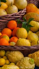 Nice - March-10 (majorlaurent) Tags: france fruit french nice market bokeh blurred reflet citrus cote march flou dazur citrons