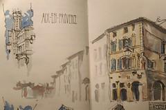 Forum Cardeur - Aix-en-Provence (velt.mathieu) Tags: sketch provence croquis urbansketchers