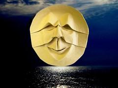 Full Moon (Rui.Roda) Tags: moon face lune origami mask luna full lua papiroflexia rostro cheia rosto visage masque mscara llena pleine papierfalten