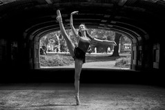 Ballerina (Narratography by APJ) Tags: newyorkcity blackandwhite bw ballet ny dance ballerina dancers centralpark pointe apj narratography