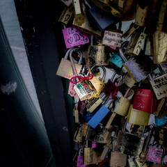 This one is ours! (paulstewart991) Tags: bridge inspiration paris love devotion locks canon70d