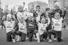 Enjoying football 9 (JP Korpi-Vartiainen) Tags: game girl sport finland football spring soccer hobby teenager april kuopio peli kevt jalkapallo tytt urheilu huhtikuu nuoret harjoitus pelata juniori nuori teini nuoriso pohjoissavo jalkapalloilija nappulajalkapalloilija younghararstus