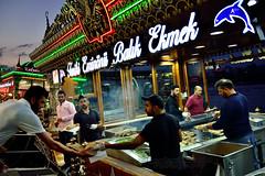 Nice fish Grill! (Jos M. F. Almeida) Tags: summer turkey august istanbul tryp istambul eminonu 2015 turqia