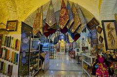 More scarves at Bazaar-e Vakil (T   J ) Tags: iran fujifilm shiraz xt1 teeje fujinon1024mmf4
