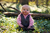 Grayson Carter: 6 Months - 01 (brian.laughman) Tags: boy baby 6 cute forest woods mud messy months