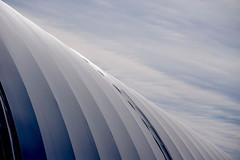 Dome (Kvse) Tags: blue sky dome ribbed angled shadesofblue softsky