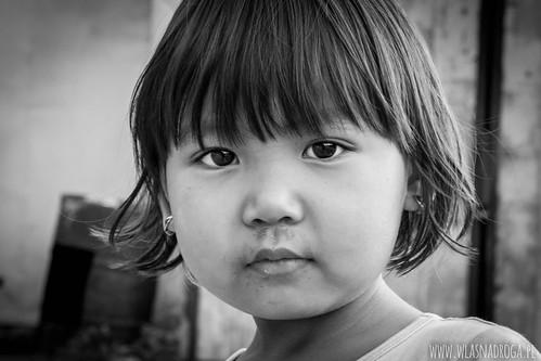 Kirgiska dziewczynka