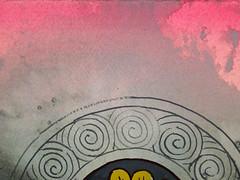 DSC09494 (scott_waterman) Tags: detail ink watercolor painting paper lotus gouache lotusflower scottwaterman