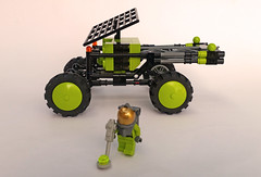 Lava Explorers buggy (Shannon Ocean) Tags: lego jeep rover science concept exploration
