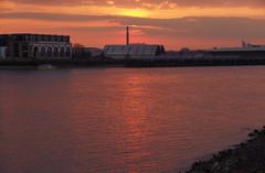 IMGP0535 (mattbuck4950) Tags: sunset england sun london water reflections march europe unitedkingdom dusk rivers riverthames chimneys gbr 2016 londonboroughoftowerhamlets londonboroughoflewisham royalboroughofgreenwich lenssigma18250mm camerapentaxk50