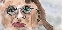 er hatte sie angesehen, das allein machte sie nervs (raumoberbayern) Tags: summer bus pencil subway munich mnchen sketch drawing sommer tram sketchbook heat ubahn draw bleistift robbbilder skizzenbuch zeichung