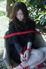 2016.3.22 yoko (kazumaogaeriMOSO) Tags: red girl japan japanese bondage rope kazumaogaeri