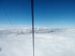 aiguille du midi: 3850 mtres. (zeeman.antwerpen) Tags: panorama snow ski montagne alpes landscape neige chamonix montain
