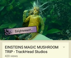 4:20 Day Celebration (TrackHead Studios) Tags: mushroom funny comedy einstein 420 adamhall alberteinstein magicmushroom april20 trackhead trackheadstudios trackheadxxx