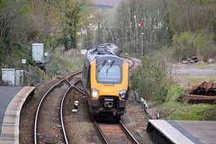 220028 (R~P~M) Tags: uk greatbritain england train cornwall unitedkingdom railway crosscountry voyager 220 kernow demu liskeard multipleunit dbarriva