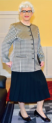 Ingrid021846 (ibach411) Tags: skirt mature blazer pleated faltenrock