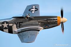 P-51 Dakota Kid II (mvonraesfeld) Tags: show ca plane flying fighter texas aircraft aviation air wwii legends mustang chino p51 planesoffame wabird img7311