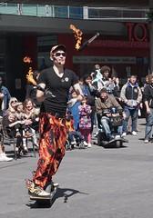DSC04013 (Moodycamera Photography) Tags: street toronto ontario set movie square downtown sony busker yonge juggler dundas strain a6000