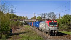 21 april 2016 - PKP Cargo 193 502 - Bottrop Wellheim (EnricoSchreurs) Tags: train canon deutschland eos track siemens poland railway zug cargo container april trein containers spoor 193 bottrop 6d 502 pkp rheinhausen 2016 vectron wellheim br193 małaszewicze