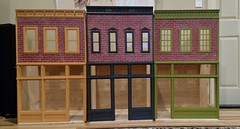 1/6 scale Street of Dreams project (Ken Haseltine Regent Miniatures) Tags: brick buildings 16 diorama regentminiatures kenhaseltine 16scalehouse