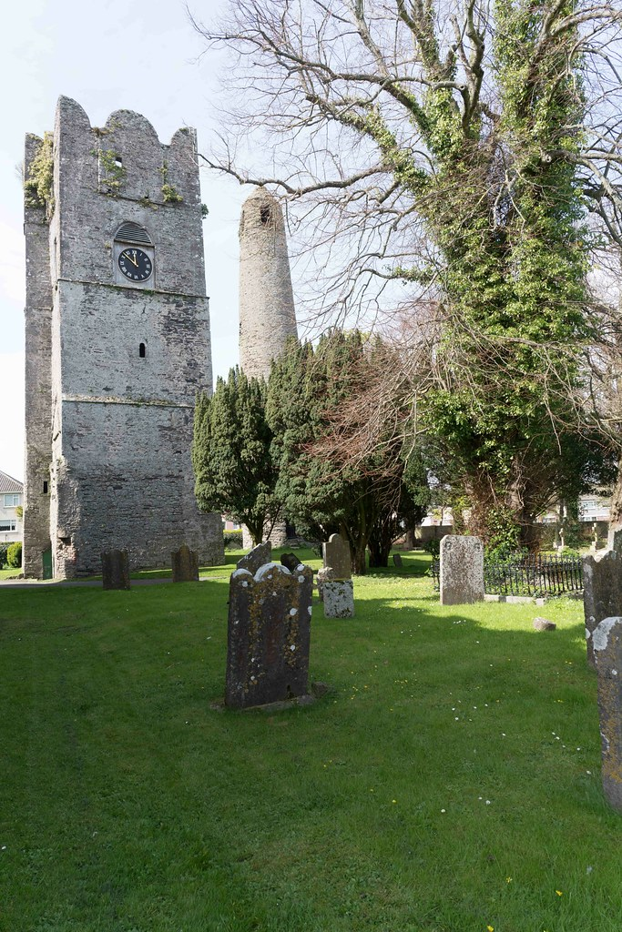 St. Columba's Church And Grounds In Swords County Dublin [Church Road]-115220