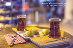 Some Baklava or Tea..? (Shergill Manprit) Tags: travel travelling turkey tea delhi traveller bazaar turkeytravel travelbug turkish baklava grandbazaar turkishtea travelphotography turkishbazaar indianphotographer