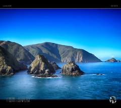 Kaitiaki III (tomraven) Tags: blue newzealand sky ferry lumix islands rocks bluesky sounds queencharlottesound bluesea gx8 tomraven aravenimage q22016