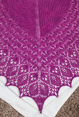 _DSC1277 (KateSi) Tags: pink rose rosa fuschia shawl knitty sjal chal laminaria rosado chle scialle shoulderette
