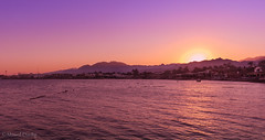 Sunset in Dahab (Ahmed Dardig) Tags: sunset sea landscape photography dahab redsea egypt mount explore southsinai