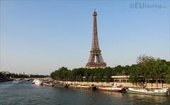 Eiffel Tower from Bir-Hakeim bridge (eutouring) Tags: travel bridge paris france tower seine river eiffeltower eiffel riverseine pontdebirhakeim