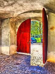 Tor zum Schlosspark (rolfo100) Tags: tor schlosspark