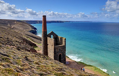 Wheal Coates, Cornwall (Explored) (Baz Richardson (trying to catch up!)) Tags: coast cornwall cliffs stagnes tinmines whealcoates explored towanroathpumpinghouse